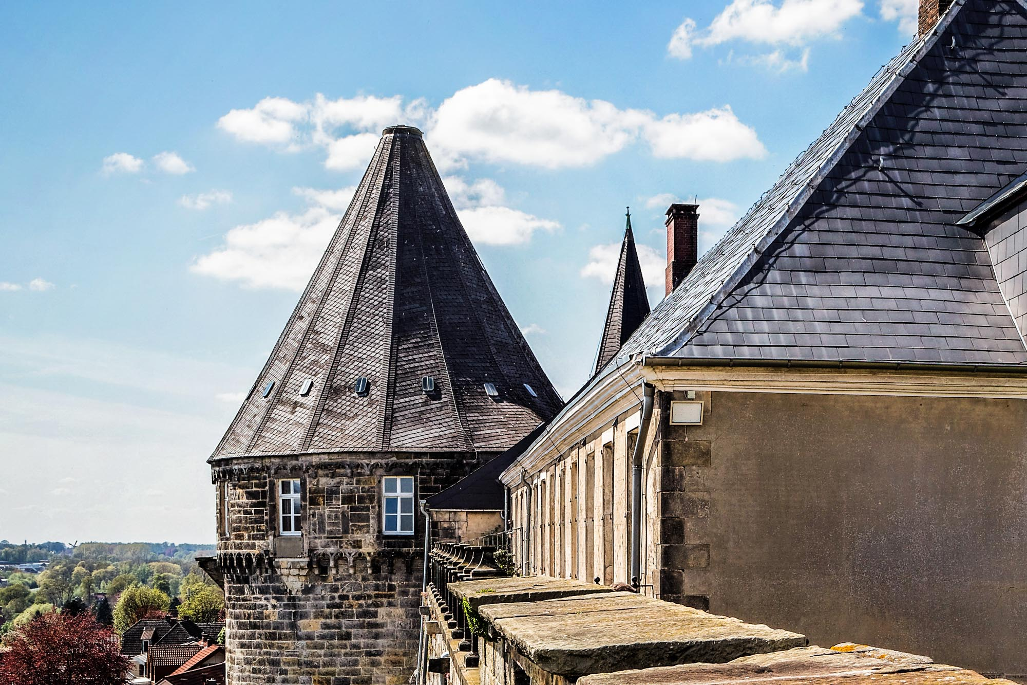 The Battery Tower at Bentheim Castle © Andreas Richter