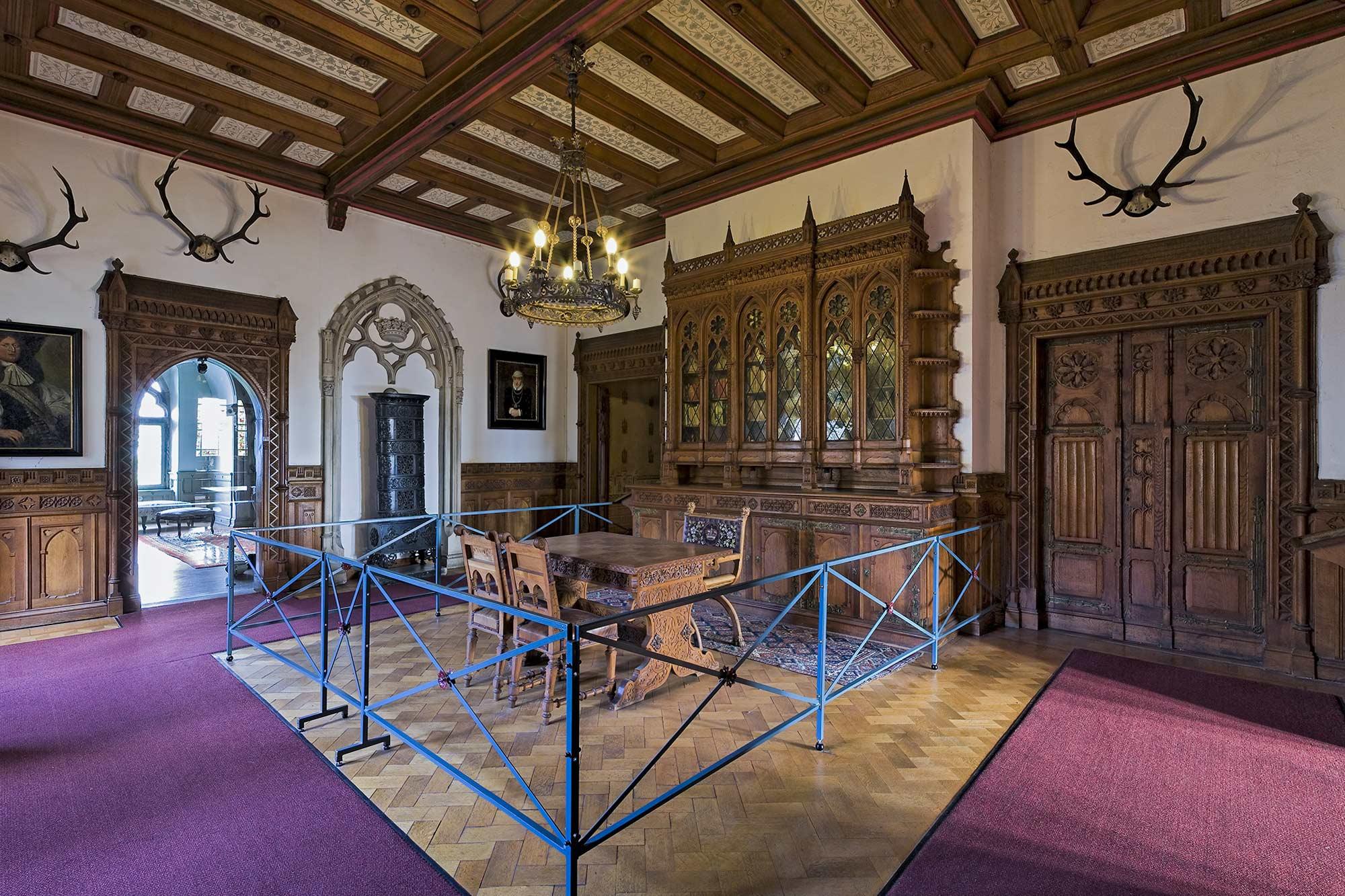 The Library at Bentheim Castle © burgbentheim.de