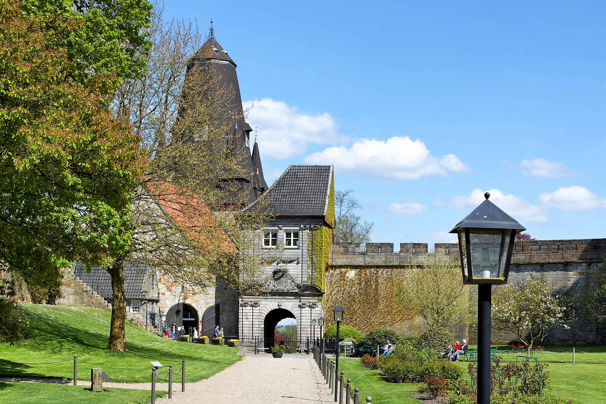 Entrance to Bentheim Castle © Andreas Richter