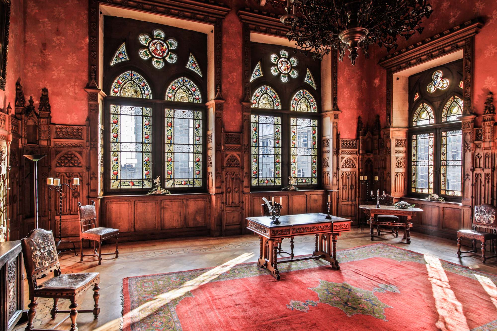 The Ernst-August-Saal inside Bentheim Castle © Thomas Wallenmeyer