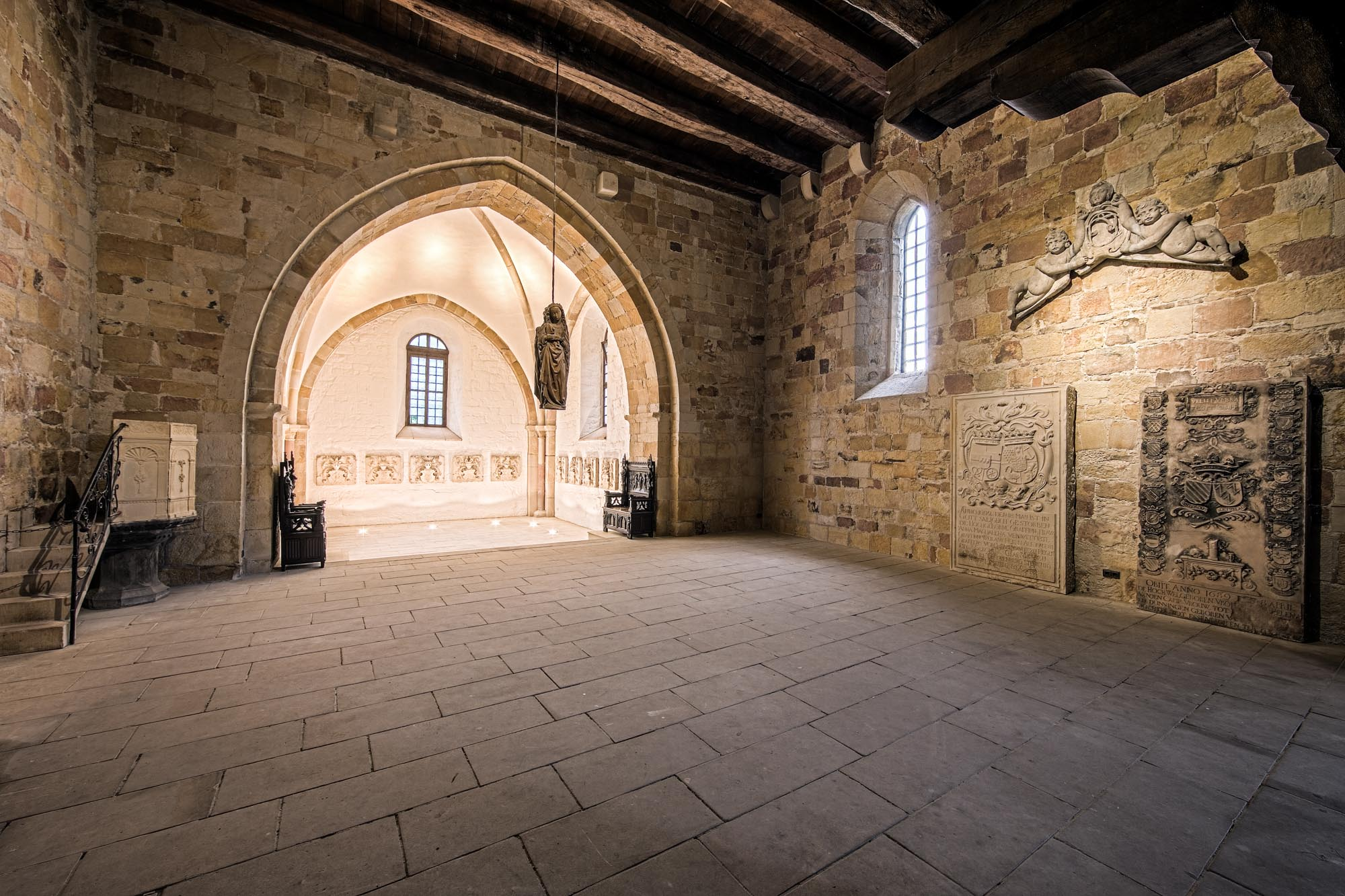St. Catherine's Church at Bentheim Castle