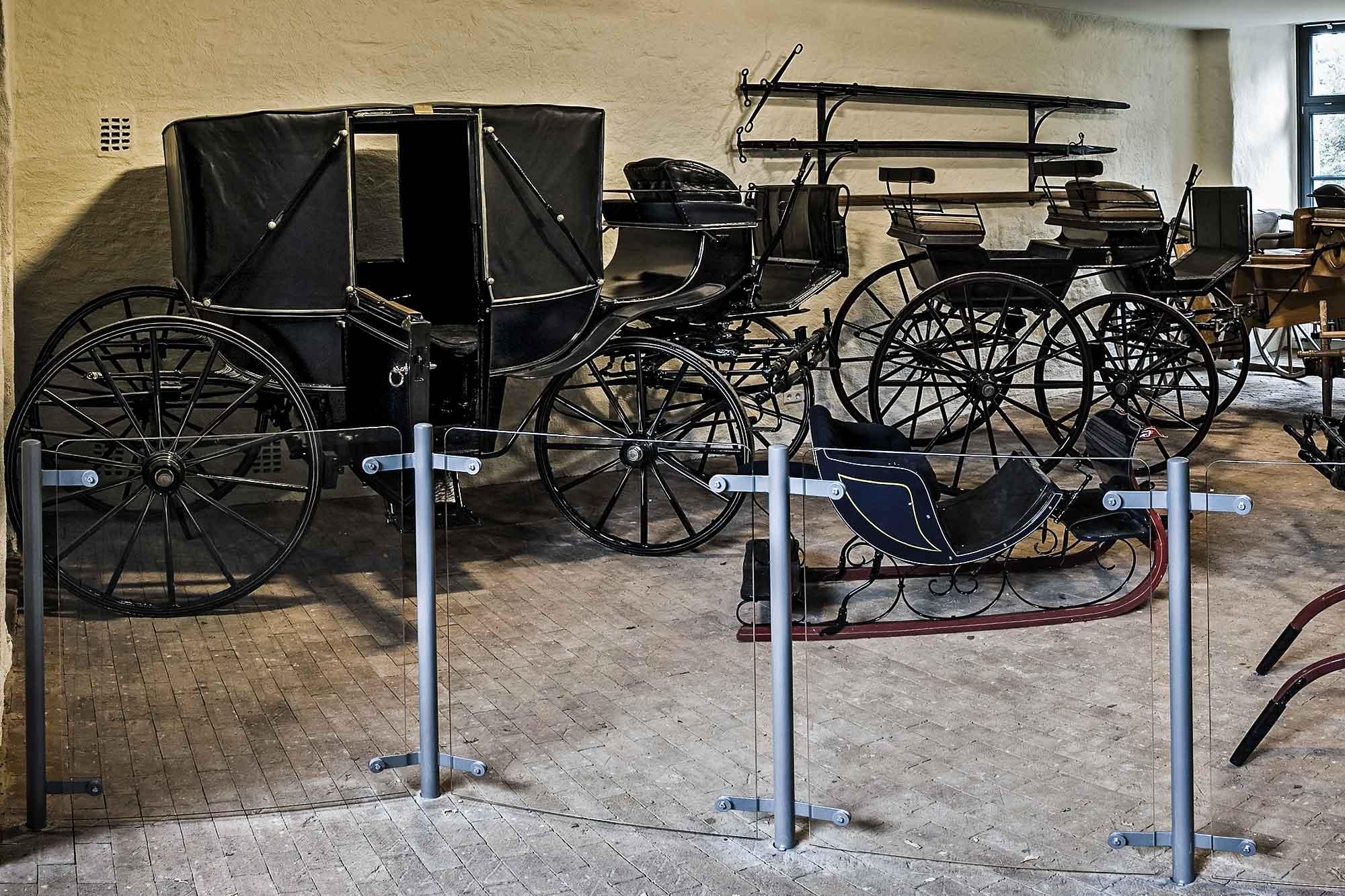 Carriage Exhibition at Bentheim Castle