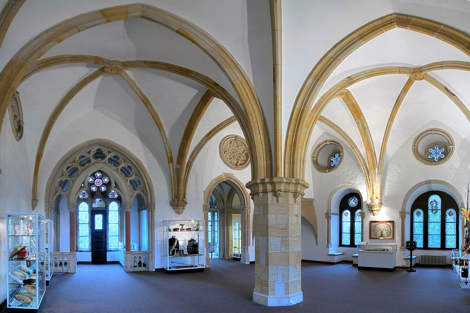 The refectory of Bentheim Castle © burgbentheim.de